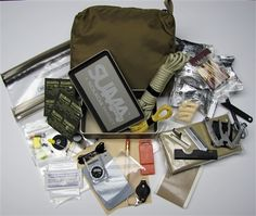 This Kit was designed to meet the specs for the Navy Seal Survival, Evasion, Resistance and Escape Kit. Complete details and video review