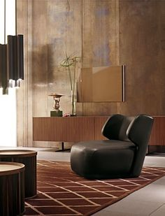 """""""DC 150 Armchair"""" for Ceccotti Collections by Vincenzo DeCotiis Upholstered Furniture, New Furniture, Table Furniture, Furniture Design, Vincenzo De Cotiis, Deco Design, Interior Inspiration, Furniture Inspiration, Interior Ideas"""