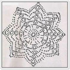 PATRONES - CROCHET - GANCHILLO - GRAFICOS: GRAFICOS AL CREOCHET = PATRONES AL…