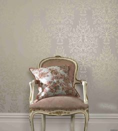 rose gold chair #home #decor