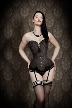 Overbust corset - Venus - Steampunk