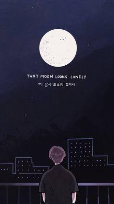 Bts Wallpaper Lyrics, Wallpaper Quotes, Learn Korea, Arte Sailor Moon, Bts Billboard, Bts Qoutes, Bts Texts, Bts Lyric, Anime Gifts