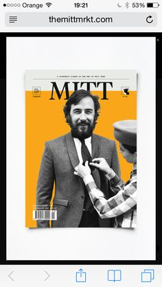 Sastrería 91 cover of #Mittmagazine @meninthistown!!! Thank you very much!!!