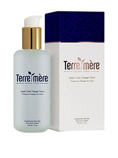 Terre Mere Cosmetics Apple Cider Vinegar Toner >>> You can find more details by visiting the image link. Apple Cider Vinegar Toner, Organic Apple Cider Vinegar, Vigan, Merida, Aloe Vera, Blemish Remover, Organic Green Tea, Jojoba, Rose Water