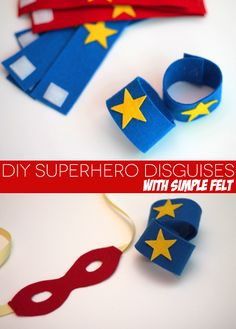 DIY Super Hero Props