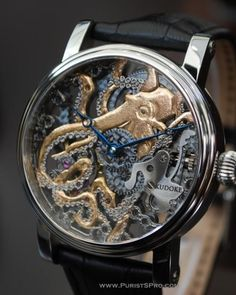 KudOktopus - KUDOKE - The Master of Skeleton Watches - Independent Watchmaker - Handmade in Germany