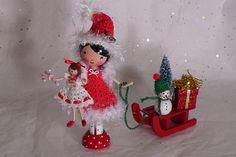 Christmas Treasures-Clothespin Doll | Flickr - Photo Sharing!