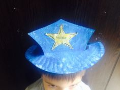How to make a policeman hat