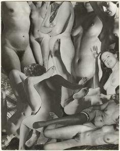 Marcel Bovis 1950. Photomontage