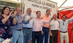Corrochano y García-Page coinciden en la importancia de crear empleo y de acabar con el trasvase - 45600mgzn