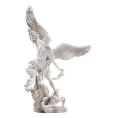 Design Toscano Bonded Marble St. Michael the Archangel Angel Statue Design Toscano http://www.amazon.com/dp/B001O6MDW2/ref=cm_sw_r_pi_dp_PBUCwb0181YX9