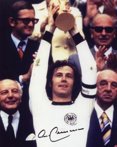 Franz Beckenbauer - Germany 74  This. Is. Greatness. Embodied.