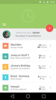 Android material design