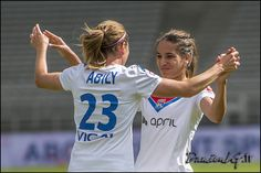 Camille ABILY - Amel MAJRI. Lyon - Hénin Beaumont