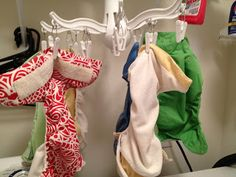 Thrifty Living: Drying Cloth Diapers