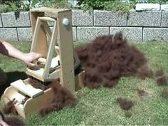 fibre wool picker / fleece blender / pre drum carder - YouTube
