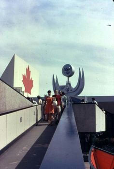 I don't know where, or what this pavilion was - but the photo' makes me smile 1967 Montreal