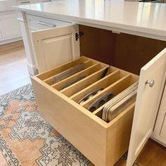 Related posts: Neat Kitchen Organization and Storage Ideas 80 Lovely DIY Projects Furniture Kitchen Storage Design Ideas 38 Awesome Ideas To Makeover Outdoor Kitchen Decoration 39 Magnificient Small Kitchen Design Ideas On A Budget Clever Kitchen Storage, Kitchen Drawers, Kitchen Cabinet Design, Kitchen Redo, Kitchen Organization, Kitchen Designs, Kitchen Counters, Awesome Kitchen, Kitchen Pantry