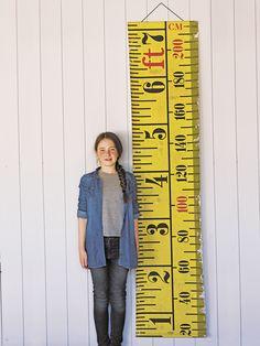 Tape Measure Wall Hanging