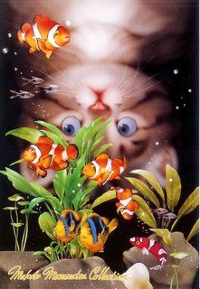 Makoto Muramatsu - cats are so cute - mischievous to the nth degree , but cute.