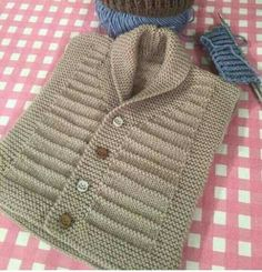 This Pin was discovered by Ayş Baby Knitting Patterns, Knitting For Kids, Easy Knitting, Knitting Designs, Baby Patterns, Baby Boy Sweater, Knitted Baby Cardigan, Baby Pullover, Baby Sweaters