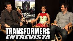 Entrevista con Isabela Moner y Santiago Cabrera TRANSFORMERS THE LAST KNIGHT / Transformers 5 - YouTube