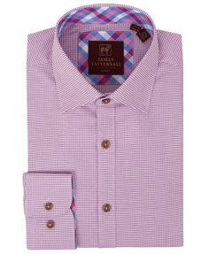 JW6616-Pink (Covent) from James Tattersall Clothing