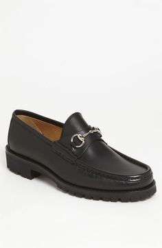Gucci Classic Lug Sole Moccasin available at #Nordstrom