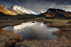 Plan du Lac - Vanoise National Park in the French Alps  [Frozen garden by emmanueldautriche on deviantART]