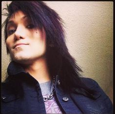 ((Andley?)) Sup, I'm Ashley Purdy. I'm the bassist for Black Veil Brides and 26 years old, two years older tham my best friend Andy, who is the lead singer. Intro?