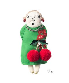 🌟Tante S!fr@ loves this📌🌟干支別注グランマチャーム Tiny Dolls, Soft Dolls, Brooch Corsage, Valley Of The Dolls, Sewing Dolls, Grandparent, Couture, Soft Sculpture, Fabric Dolls
