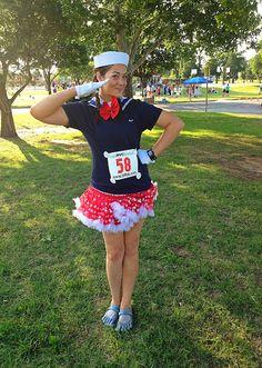 Patriot running costume