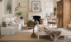 House Beautiful: A European Style Stunner - This home is one of my all time favorites, so I'm sharing it again. It's the New Orleans home designer Tara Shaw. Inside the house, Tara has set a tone tha My Living Room, Home And Living, Living Room Decor, Living Spaces, Living Area, Nova Orleans, New Orleans Homes, Parisian Decor, Parisian Chic