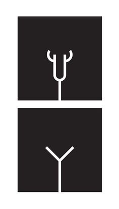 Box cafe Melbourne _ bathroom pictograms _ Jeremy Matthews @ Mia&Jem