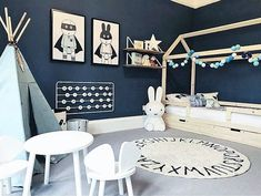 Toddler Rooms, Baby Boy Rooms, Baby Room, Room Ideas Bedroom, Room Decor, Kids Room Design, New Room, Kids Rugs, Kallax