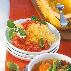 Tomatino-Spaghettikürbis Rezept | Küchengötter
