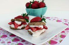 Strawberry Shortcake : Vegan, paleo, gluten free, dairy free & more