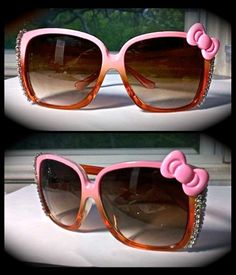 Hello Kitty glamorously hand embellished Sunglasses