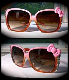 Hello Kitty glamorously hand embellished Sunglasses