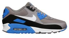 Nike Air Max 90 Essential - Sport Grey/Photo Blue | Sole Collector