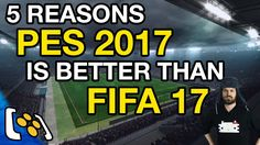 5 Reasons PES 2017 Is Better Than FIFA 17 - http://tickets.fifanz2015.com/5-reasons-pes-2017-is-better-than-fifa-17/ #FIFA17