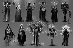Dune redesign: Bene Gesserit, Simon Dubuc on ArtStation at… Game Character, Character Concept, Concept Art, Dune, Frank Herbert, Drawn Art, Character Design Inspiration, Creature Design, Fantasy Characters