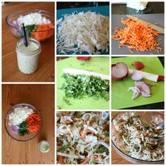 Spicy Coleslaw with Green Chile Ranch Dressing - we love spicy food! This is the perfect barbecue side dish. Find 200+ Salad and Easy Homemade Dressings - Healthy Eating made easy!   CeceliasGoodStuff.com | Good Food for Good People