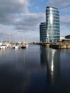 A view across Chatham marina by Simon Bolton UK, via Flickr