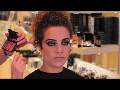 ▶ Eve Pearl - Sexy Vampire Makeup Tutorial - YouTube
