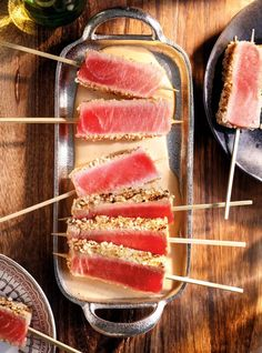 Clean Recipes, Cooking Recipes, Healthy Recipes, Poke Bowl, Ceviche, Fish And Seafood, Tapas, Sushi, Good Food