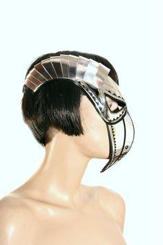 masque de médecin de peste avec masque de steampunk de mascarade bec & horns