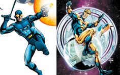 Blue Beetle & Booster Gold to Get Their Own Buddy Comedy?