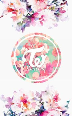 #TWICE #FLOWERS #CUTE #PINK #BLUE #VIOLET #WALLPAPER #PHONE #KPOP