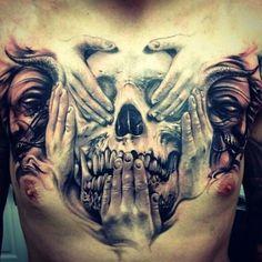 35 New Tattoo 3D for the Modern Age #tattoosformenbadass
